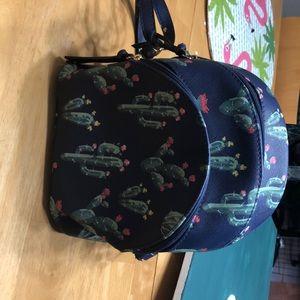 Arizona cactus mini backpack